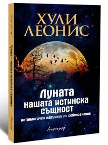 """Луната - нашата истинска същност, автор Хули Леонис, Издателство """"Апостроф"""""""