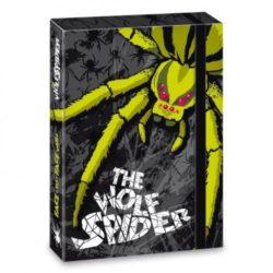 "Кутия с ластик, формат А 4, с надпис ""Wolf Spider"" - ""Ars Una"""