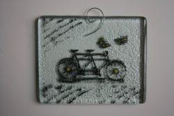 """Стъклено пано """"Тандем"""" - Katikosta Ceramics&Art Glass 10.00 лв."""
