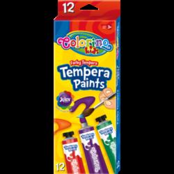 "Темперни бои 12 цвята, туби ""Colorino"""
