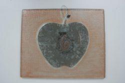 """Стъклено пано с изображение """"Ябълка"""" - Katikosta Ceramics&Art Glas"""