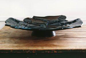 """Купа от бутилки """"Рециклиране""""- Katikosta Ceramics&Art Glass"""