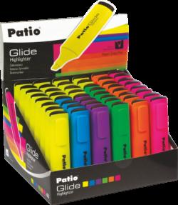 """Текст маркер - жълт, зелен, розов - """"Glide Patio"""""""