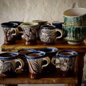 "Керамични чаши - ""Fakiry Design Studio"""