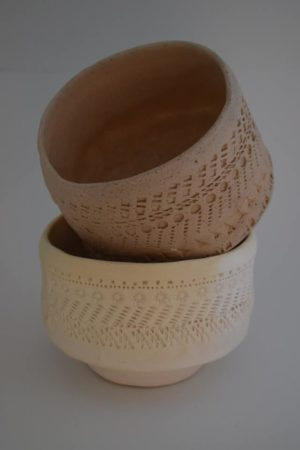 """Керамични купички, бели - """"Fakiry Design Studio"""""""