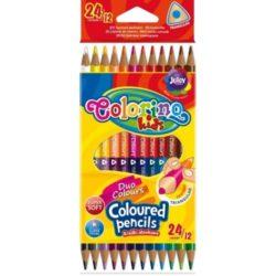 """Цветни моливи - 12 броя, 24 броя - """"Colorino"""""""