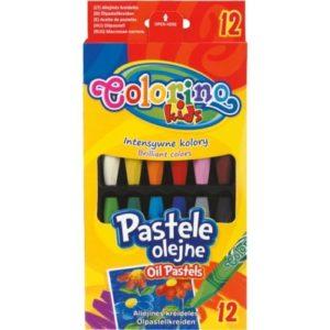 """Маслени пастели, 12 цвята - """"Colorino"""""""