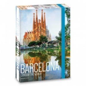 "Кутия с ластик формат А 4 ""Barselona"" - ""Ars Una"""