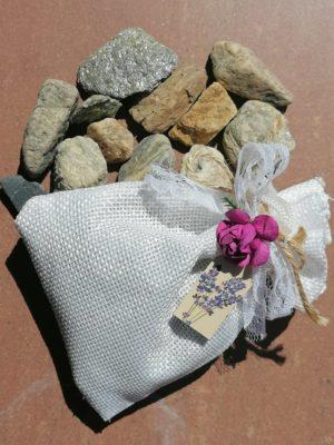 Торбички с естествена лавандула за спокоен сън