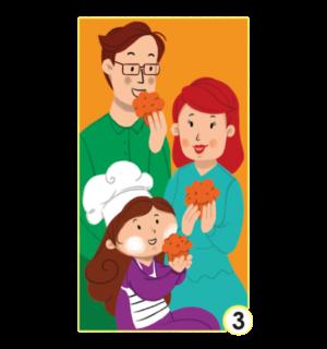 """""""Разкажи ми история"""" - карти за игра Издателство """"Клевър Бук"""", за деца от 1 до 3 г."""