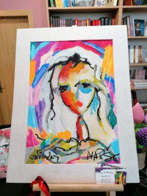 Картина - акрил и пастел, художник Мариана Стефанова