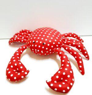 Текстилна играчка рак
