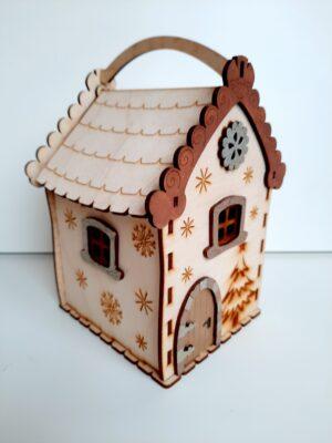 Коледна къщичка - кутия